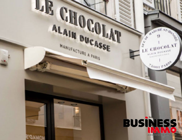 Boutique Ducasse rue du marché Saint Honoré, acquisition 2019 de F&A pour High Street Retail