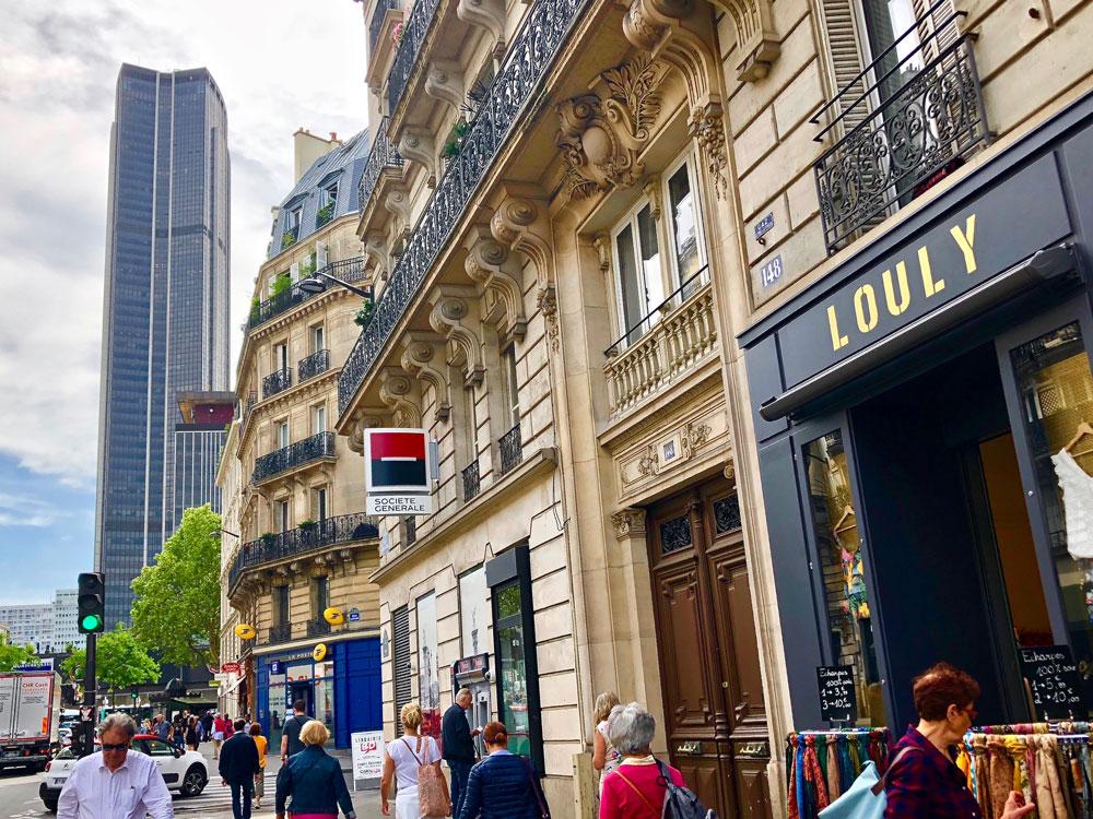 Rue de Rennes à Paris 6e, où F&A Asset Management gère la banque Société Générale