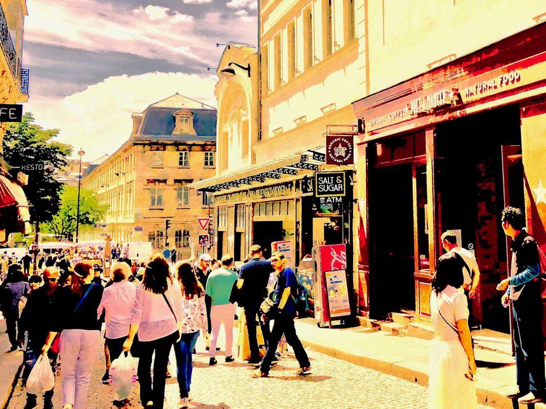 Rue Steinkerque proche de Montmartre à Paris 18e, où F&A Asset Management gère le Prêt à Manger